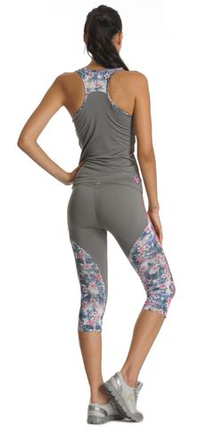 #FW2013, #WRUP_Sport #Shaping_Effect, #Comfort, #Pedal_Pusher, #Free_Tank_Top