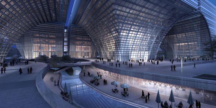 Changzhou Culture Center / gmp Architekten