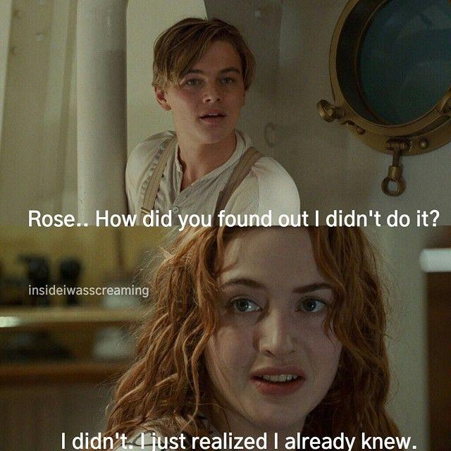 Never Let Go Titanic Quote: 17 Best Titanic Movie Quotes On Pinterest