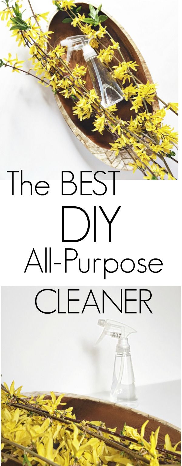 Have you tried this super simple and NATURAL all-purpose cleaner?  It works on everything and only calls for 2 ingredients!