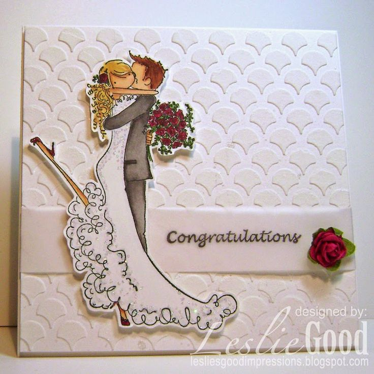 Lovely Rubber Stamp Card Making Ideas Part - 4: Brett And Brenda Get Married, Image Stampingbella. Wedding WishesWedding  CardsWedding ...