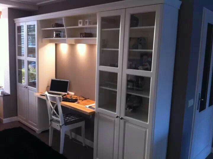 This is what I want for my scrapbooking space!