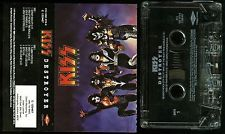 Kiss Destroyer 1997 Remaster BMG Club USA Cassette Tape RARE !