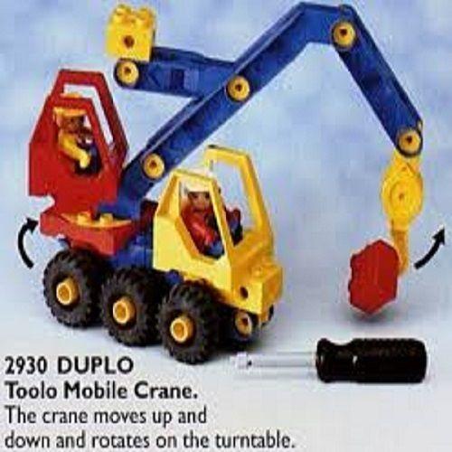 RARE New Lego Set 2930(2930-1)-Pre-School Duplo Toolo Mobile Crane -Sealed