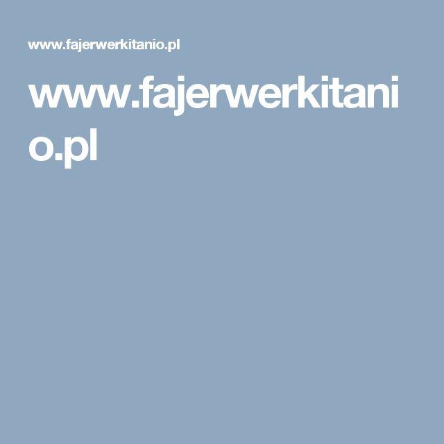 www.fajerwerkitanio.pl