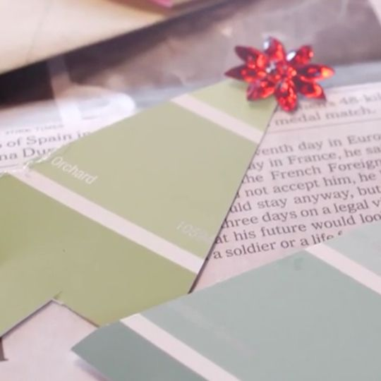 Use repurposed or craft paper to make homemade gift tags that add a thoughtful touch to any gift.