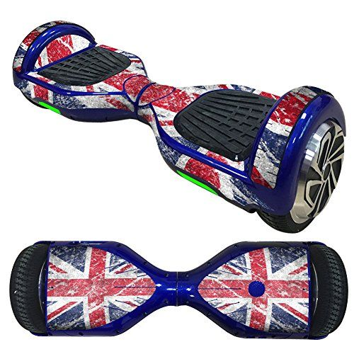 Ake Waterproof Balance Board Decal Protective Skin Stickers Wrap Decals Cover pour 6.5 inches Self Balancing Overboard Scooter -3001