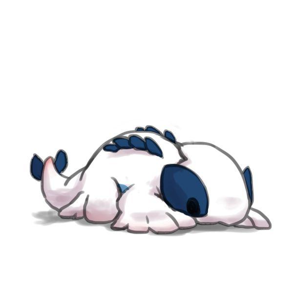 Pixiv Id 1328477, Pokémon, Lugia, On Stomach