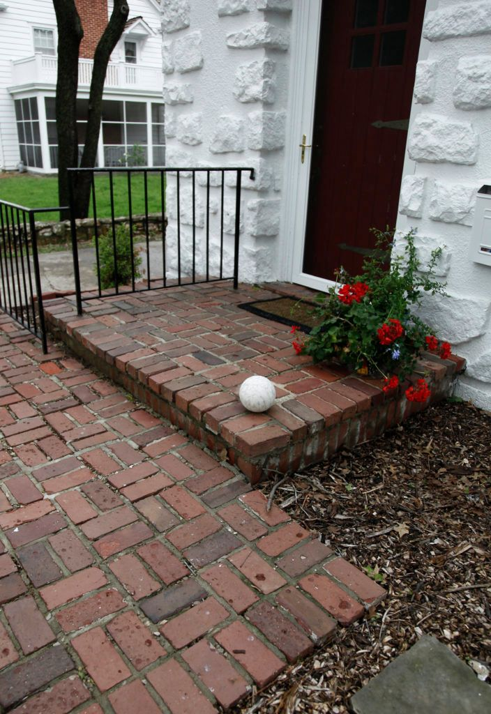 Repair brick Patio Mortar To Prevent Water Damage | Brick