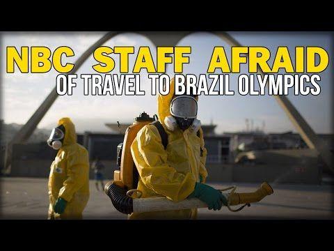 NBC STAFF AFRAID OF TRAVEL TO BRAZIL OLYMPICS - YouTube