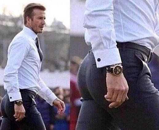 Wow David Beckham has a nice watch