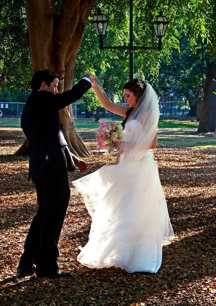 Location photography - A  dance in the gardens