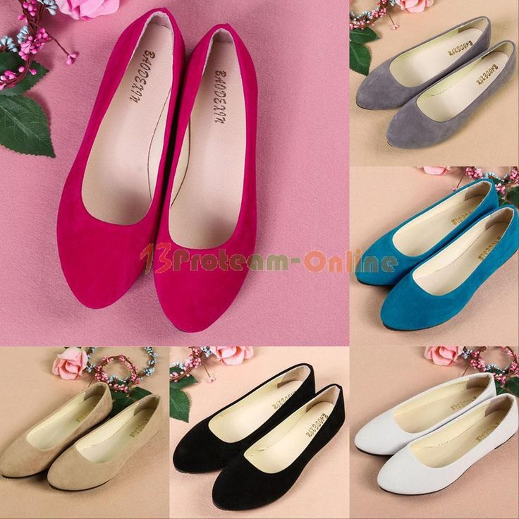 Women Ladies Boat Shoes Casual Flat Ballet Slip On Flats Loafers Single Shoes #Unbranded #BalletFlats #Casual