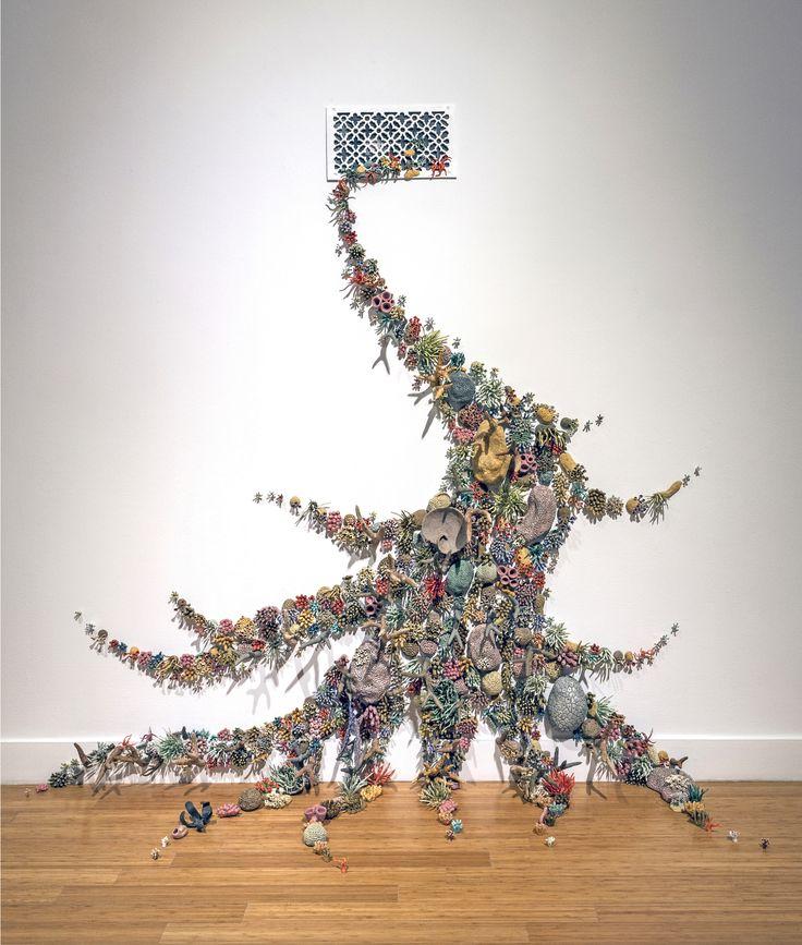 sculpture-recif-corail-ceramique-01 - La boite verte