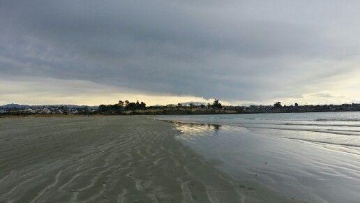 Caroline beach, Timaru New Zealand