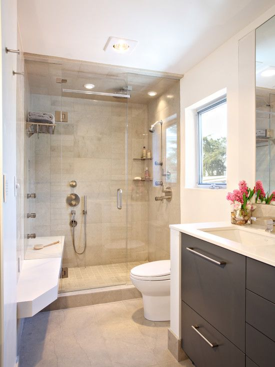 condo renovation bathroom los angeles by synthesis inc does not like modern vanity but color is good tile color good