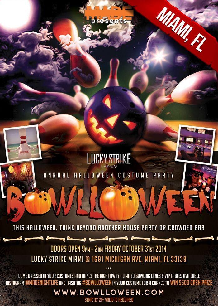 Miami Halloween 2014 Lucky Strike Halloween Event Halloween 2014 Halloween