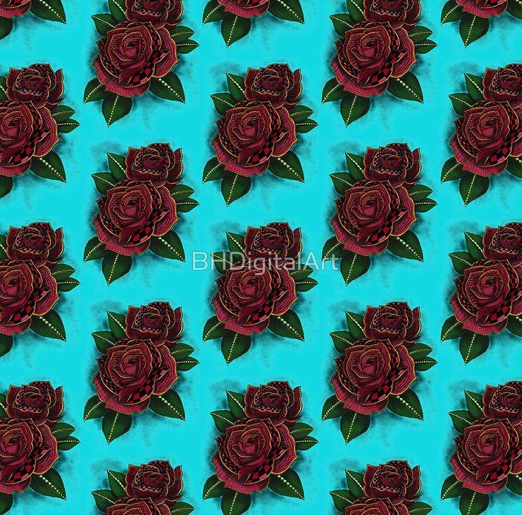 Zentangle Inspire Art- Tattoo Rose Colored