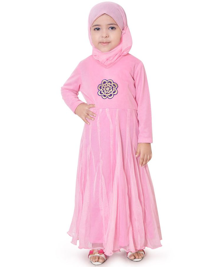 Special For Eid Best Quality #Beautiful #Kid's #Abaya Girls #Anarkali #Dress ZKA-021 #ZetZone #EverydayHolidayWedding