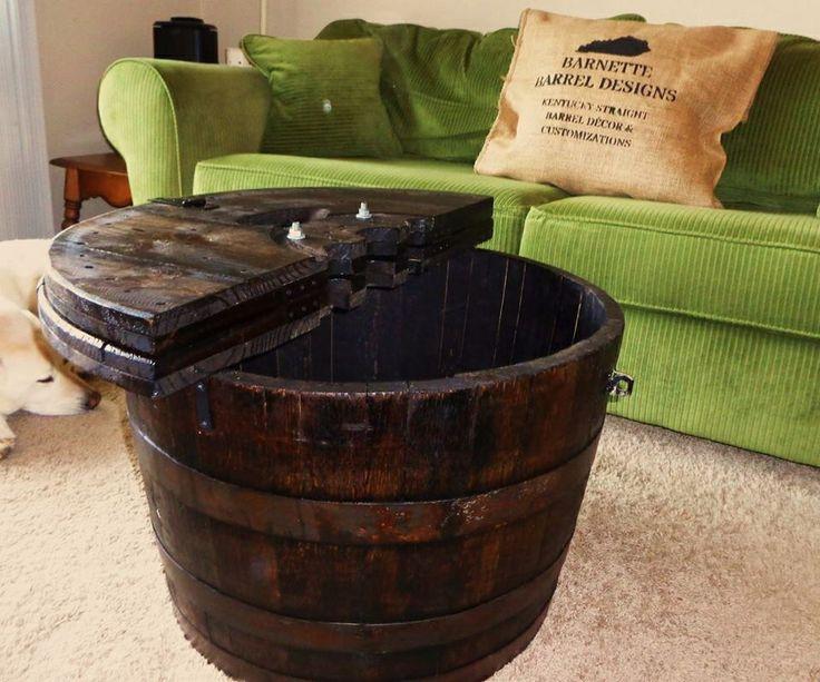 7 best bourbon barrels coffee tables images on Pinterest ...