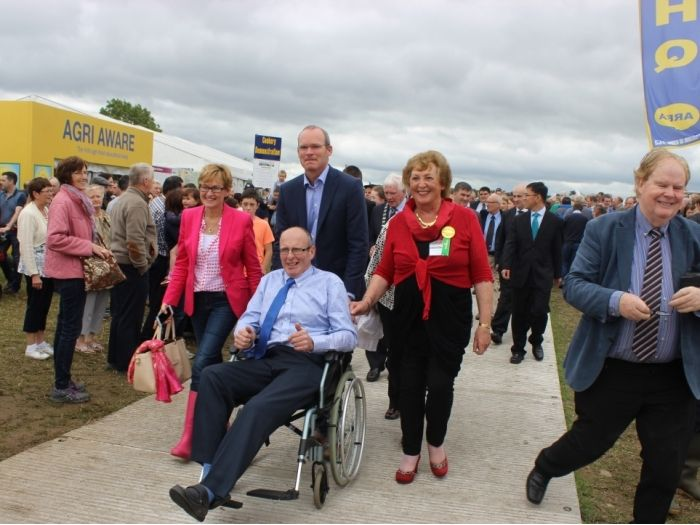 Journey to the Official Opening for the 24th Annual Tullamore Show & AIB National Livestock Show (2015)