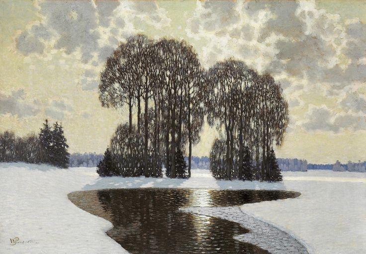 Winter, 1910, Vilhelms Purvītis, Latvian National Museum of Art, CC BY-NC-ND