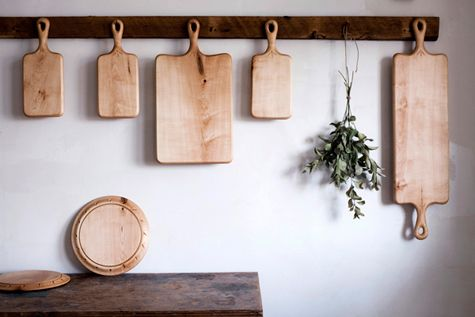 Gorgeous one-of-a-kind, American-made cutting boards.