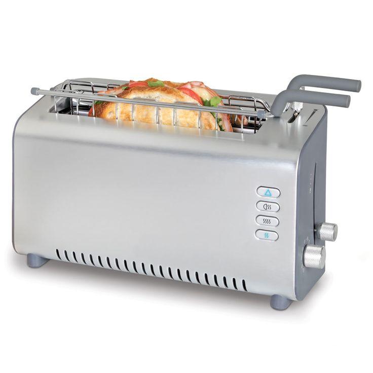 The Adjustable Bread And Sandwich Toaster - Hammacher Schlemmer