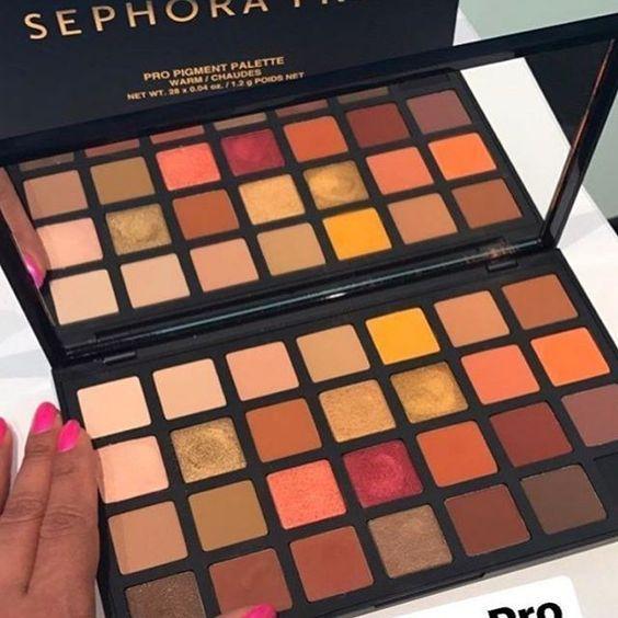 Sephora Pro Pigment Warm Palette JUNE 21st