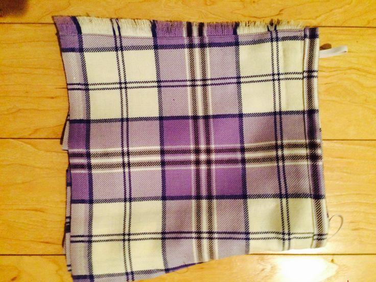 Kiltie (not on dancer) #harris #purple #tartan