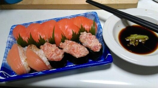 20160420 日式宵夜 魚尚 三文魚什錦壽司