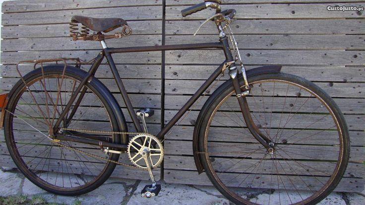 Bicicleta antiga pasteleira - à venda - Bicicleta, Lisboa - CustoJusto.pt