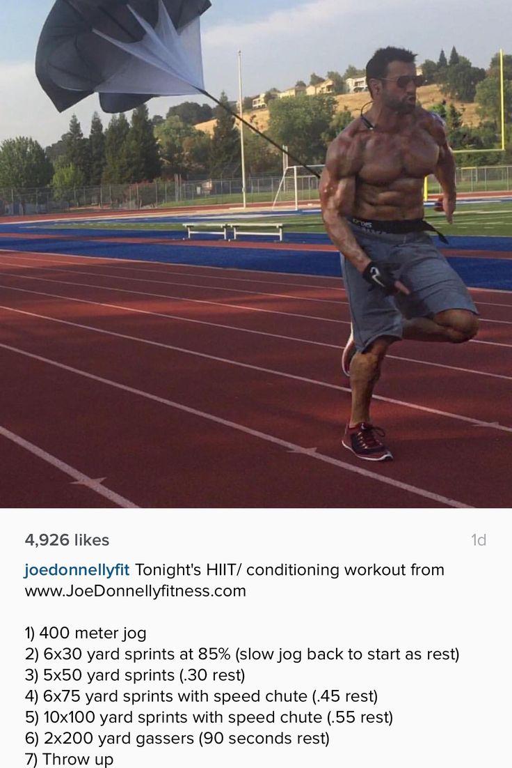 Joe Donnelly sprint workout