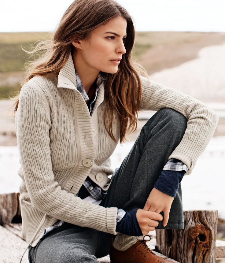 My kind of outfit on Cameron Russell.  Love this model - true beauty with Columbia educated brains.