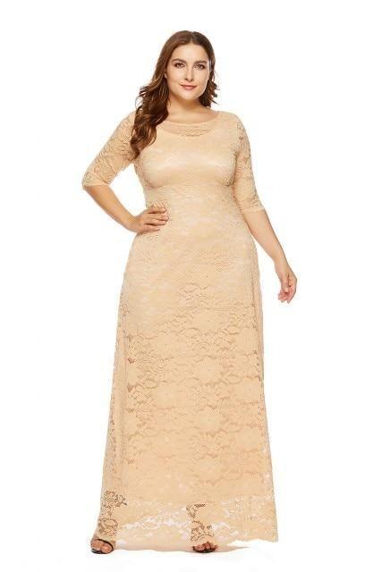13e88855d01 Plus Size Evening Dress – Curvy Fashion Queen