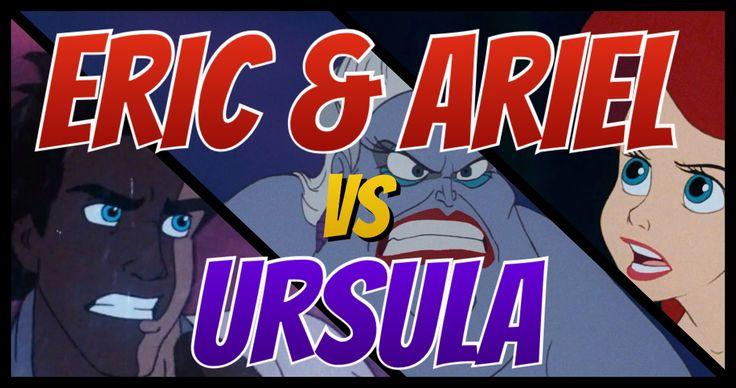 "In the fourth episode of ""Disney Showdowns,"" Tycoon and Megabucks play referee as Ariel and Eric take on everyone's (least) favourite seawitch!   #TheLittleMermaid #PrinceEric #Ariel #PrincessAriel #WaltDisney #Animation #Ursula #Sea #DisneyVillain #LittleMermaid #DisneyPrincess"