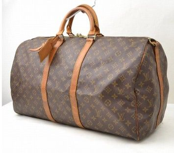 Louis Vuitton Keepall 55 Bandouliere Brown Travel Bag. Save 76% on the Louis Vuitton Keepall 55 Bandouliere Brown Travel Bag! This travel bag is a top 10 member favorite on Tradesy. See how much you can save