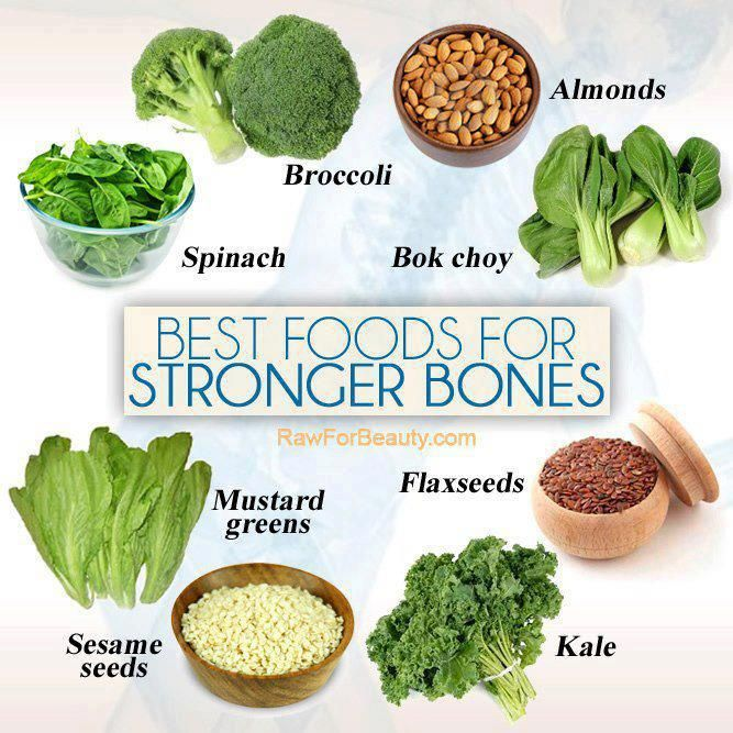 Spinach is rich in Vitamin K and it has been proven to bolster bone-mineral density in the human body. Green leafy vegetables like Kale and Collards contain high amounts of calcium, which is why they are very good for building stronger bones, teeth and reduce your overall risk for osteoporosis. LIKE and SHARE if you find this information useful.