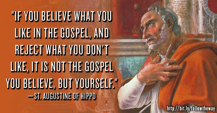A research on the beliefs of augustine