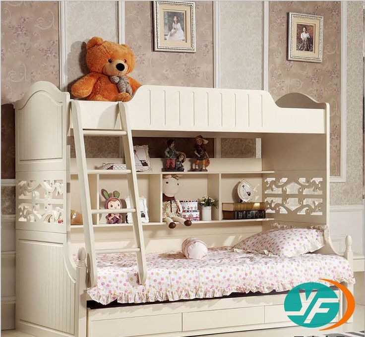 17 best ideas about bunk beds for girls on pinterest girls bunk beds bunk bed decor and girls - Nachtkastje voor loftbed ...