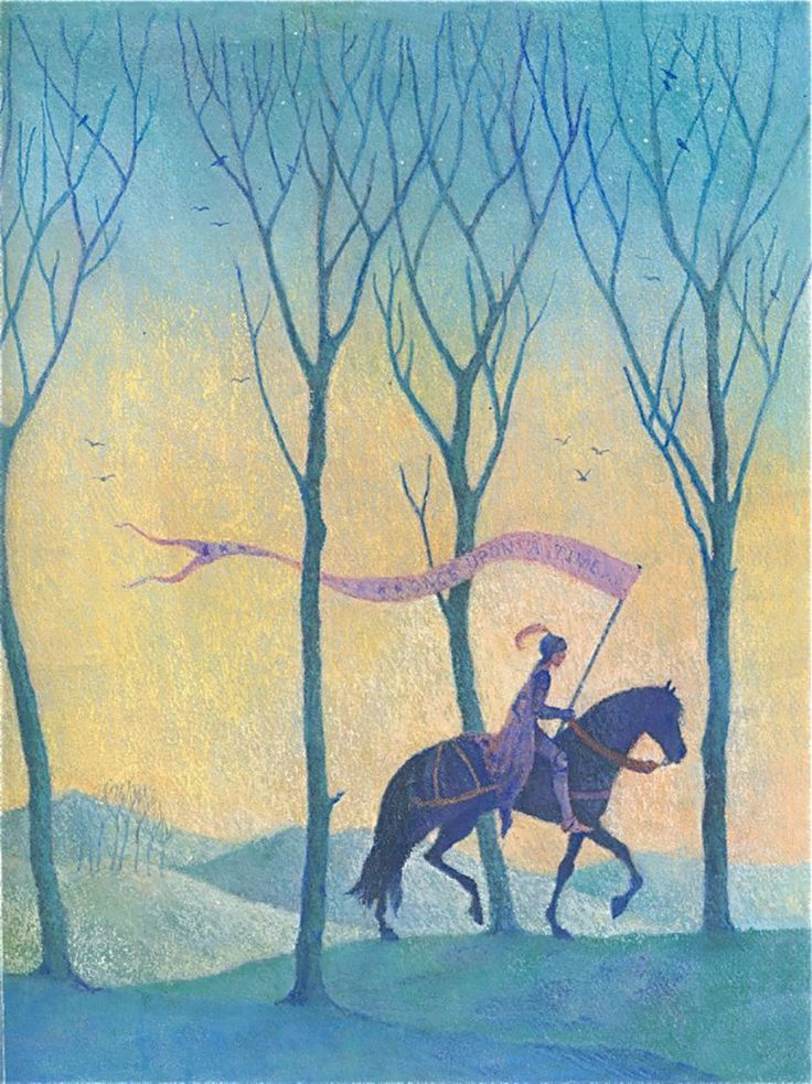 """Sophy Williams illustration for """"The Oxford Treasury of Fairy Tales""""."""