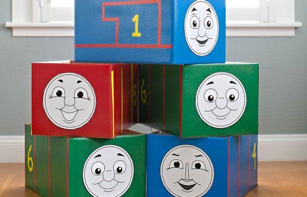 Free Thomas Train Face Printable
