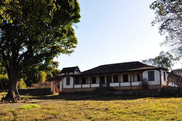 Fazenda serviu de pousada para Dom Pedro I quando em viagem pelo interior das Minas Gerais   Izabel Chumbinho/Iepha-MG