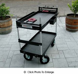 The TR-04 is the #1 Contender  in Aluminum Collapsible Camera Carts