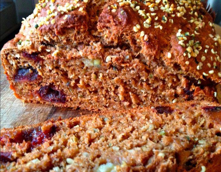 Gâteau à la banane et aux graines de chanvre