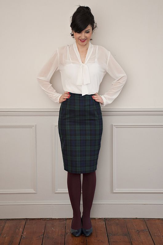 Sew Over It Ultimate Pencil Skirt PDF Pattern - click to read all about it! http://shop.sewoverit.co.uk/products/pencilskirtpattern