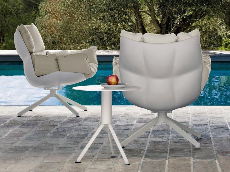 Buy The Husk Outdoor Armchair With Armrests By Bu0026B Italia From Our Designer  Outdoor Collection At Chaplins   Showcasing The Very Best In Modern Design.