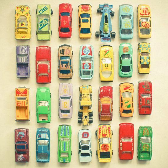 "Car Park 8x8"" Print - Folksy"