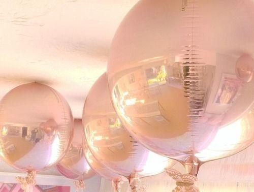 Rosegold balloons |  eatonhouseessex