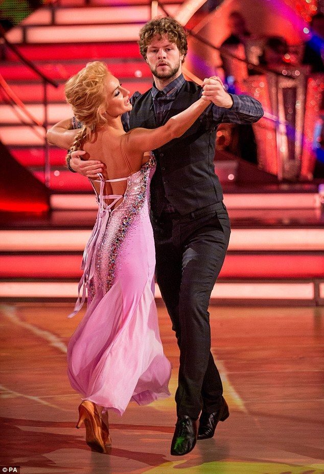 Fall from grace:Jay McGuiness and his dance partner Aliona Vilani proved that nothing las...